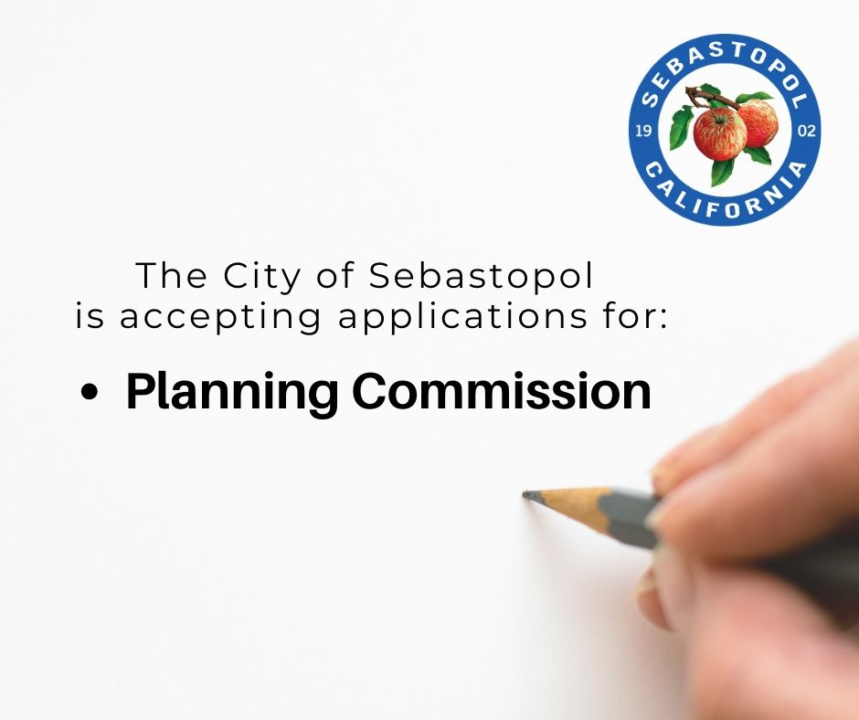 Opening on the Planning Commission
