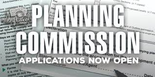 Planning Commission Opening