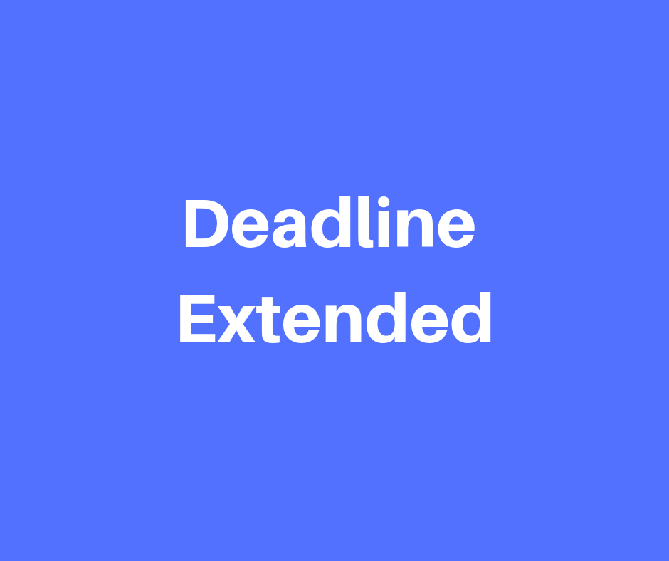 Community Benefit Grant Application Deadline Extended
