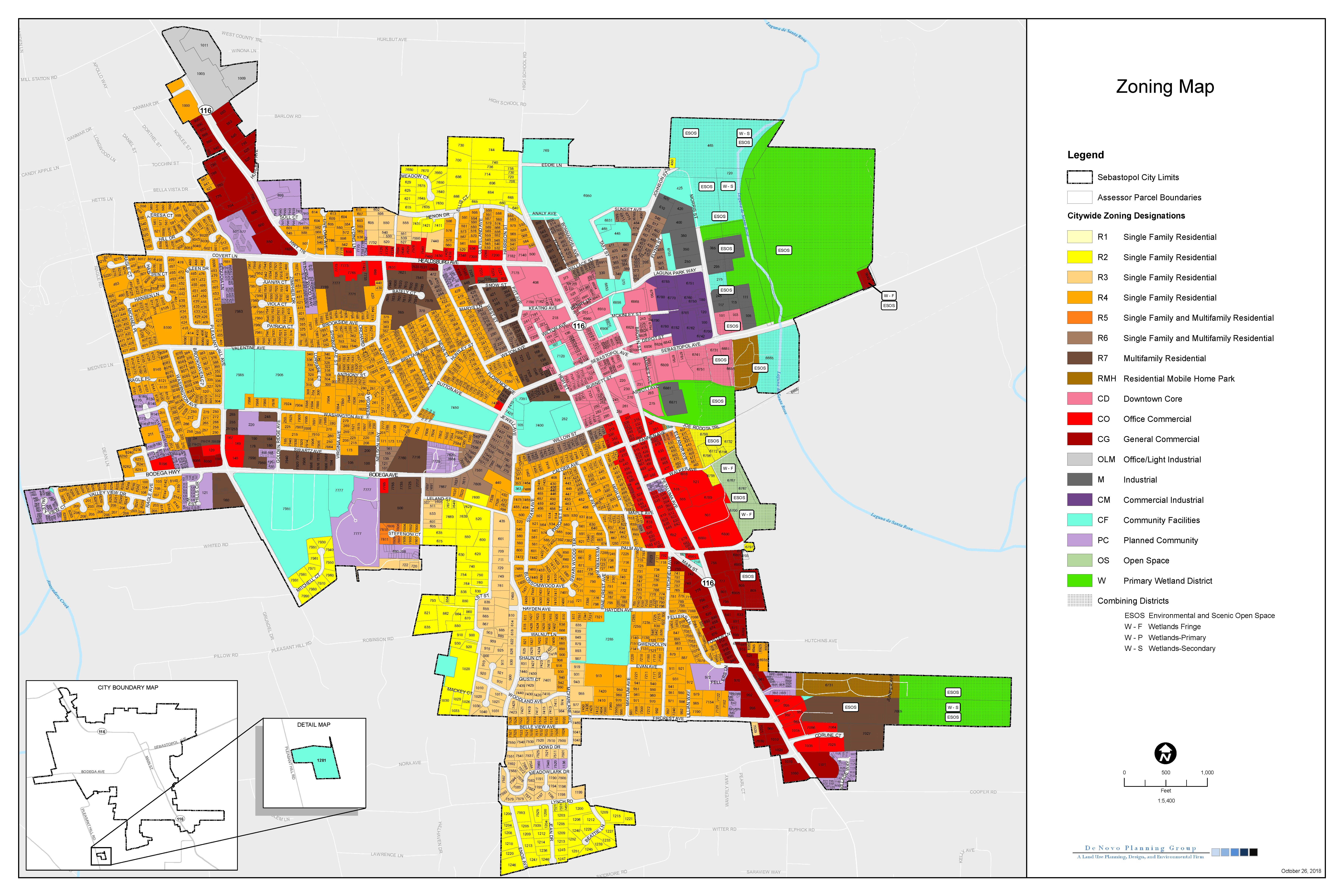 New Zoning Ordinance & Map!