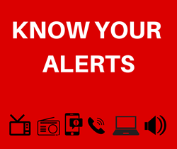 8/21: Know Your Alerts